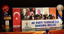 AK Parti Yıldırım'da referandum süreci başladı