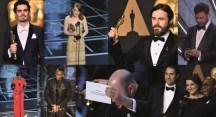 Akademi Ödüllerinde 'Oscar'lık skandal