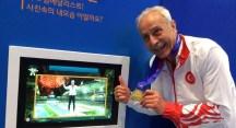 Veteran atlet Dr. Murat Kaçar dünya şampiyonu
