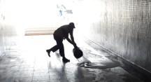Bursa'da sel gitti, çamuru kaldı