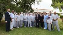 Başkan Edebali'den moral ziyareti