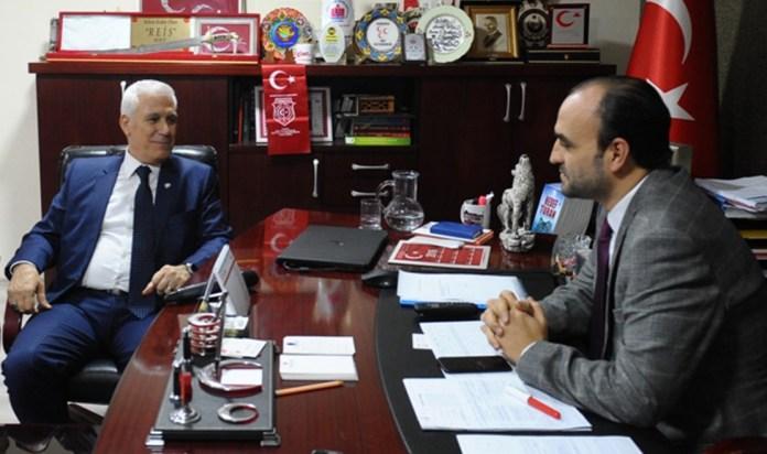 Bozbey'den, MHP Bursa İl Başkanlığı'na ziyaret