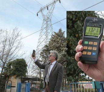 Bursa'da elektromanyetik tehlike