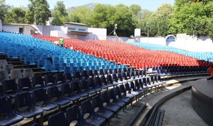 Açık Hava Tiyatrosu festivale hazırlanıyor