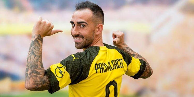 Alcacer, Borussia Dortmund'da