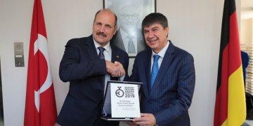 """Almanya'dan Antalya'ya """"mimari tasarım"""" ödülü"""