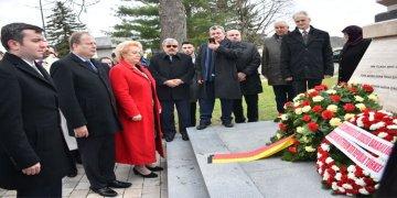 Avusturya'da 355 yıl önce şehit olan 4 bin Türk askeri anıldı