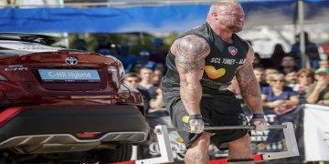 Dünyanın en güçlü adamları Alanya'da