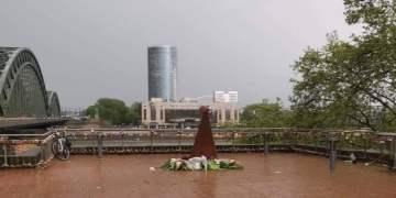 Köln'de TGB'li gençler Ermeni anıtı dikilmesine izin vermedi