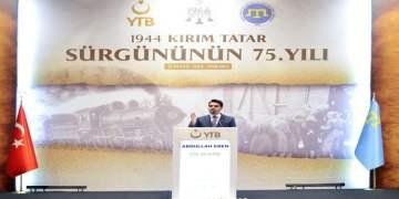 YTB Kırım Tatar Sürgünü'nün 75'inci Yılı Vesilesiyle Anma Programı Düzenledi