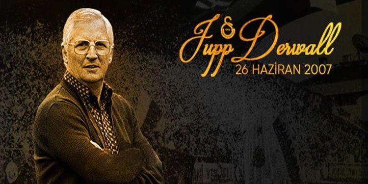 Galatasaray'dan Derwall için anma mesajı