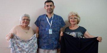 61 yaşındaki ikizler birlikte zayıfladı