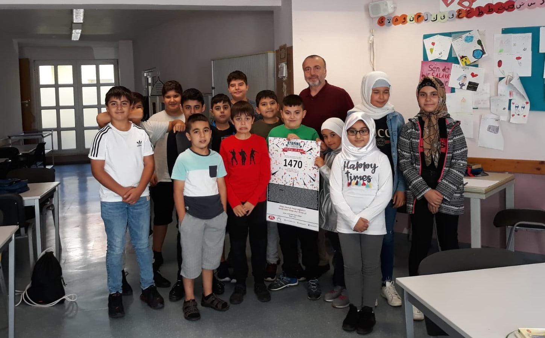 Yavuz Sultan Selim Camii'nde kitap okuma kampanyasına büyük ilgi