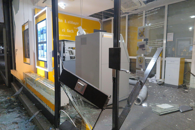 Bankamatik saldırılarına polis isyanı
