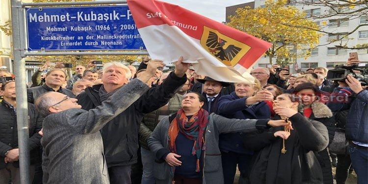 Mehmet Kubaşık Meydanı açıldı