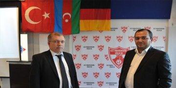 """Almanya'da """"Azerbaycan Nahçıvan Köln Spor Kulübü"""" açıldı"""