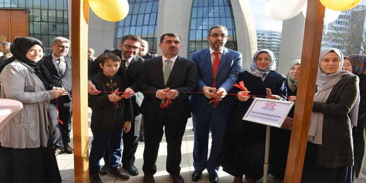 DİTİB 'Aile ve Dini Rehberlik Bürosu' açıldı