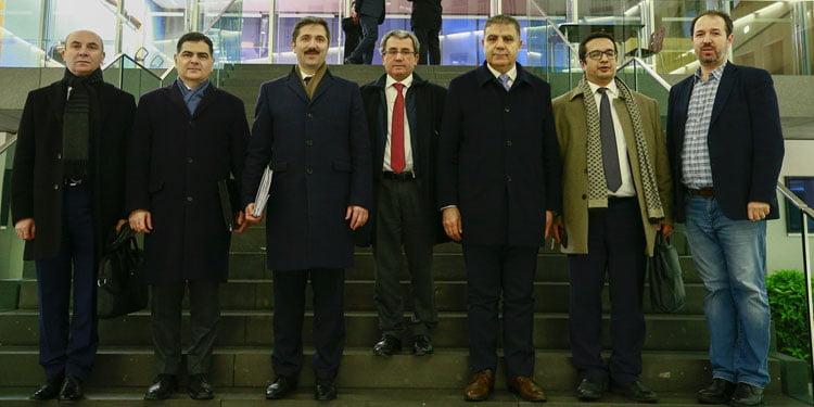 Yurtdışı Türkler ve Akrabalar Topluluğu Alt Komisyonu'nun Almanya temasları
