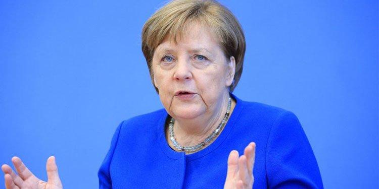 """Merkel: """"Salgın kontrol altına alınırsa ekonomik toparlanma önemli ölçüde hızlanır"""""""