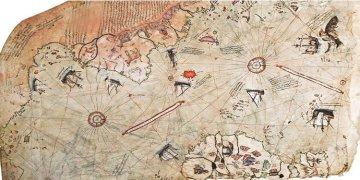1818'de keşfedilmiş deniliyor ama Piri Reis 1513'te çizmiş