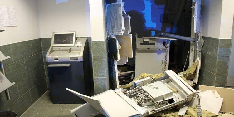 Bir bankamatik de Duisburg'da havaya uçuruldu