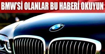Şimdi de BMW'de dizel skandalı