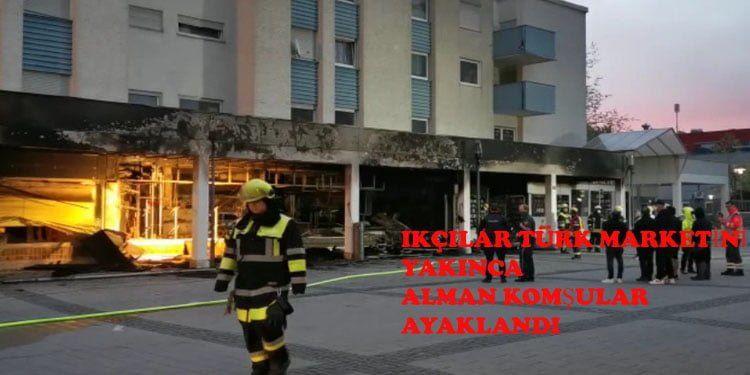Alman komşular ırkçılara ateş püskürdü