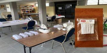 Fransa'da DİTİB Cami vatandaşlar için maske üretiyor