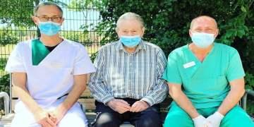 99 yaşında koronadan kurtuldu