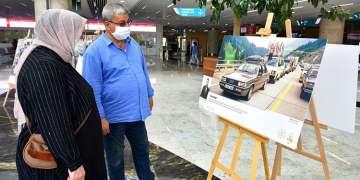 Sandık'tan Fotoğraflar Sergisi Ankara Garı'nda Açıldı