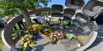 Münih'te ırkçı saldırının kurbanları anıldı