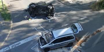 Kavşaktaki kazada 4 yaralı