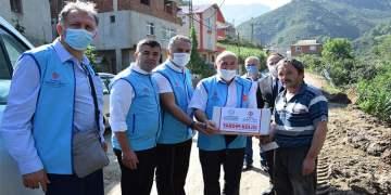 DİTİB, Giresun'da yaraları sarıyor