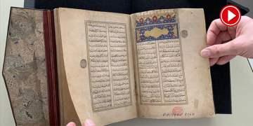 500 yıllık Osmanlı eseri Berlin'de ortaya çıktı (VİDEO)