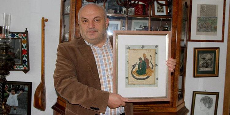 Hacı Bektaşı Veli'nin en eski tablosu Almanya'da ortaya çıktı