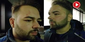 Almanya'da Türk iş adamına iş yerinde polis şiddeti (VİDEO)