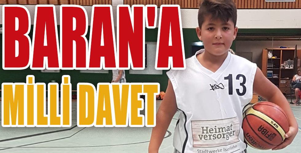 9 yaşında basketbolda milli takım daveti