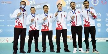 Artistik Cimnastik Milli Takımı gümüş madalya kazandı