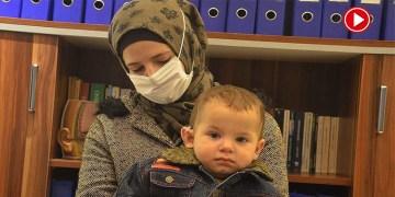 Alman derneği Emir bebeğe kulak oldu (VİDEO)