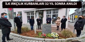 İlk ırkçılık kurbanları 32 yıl sonra anıldı