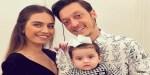 Mesut yeni yıla ailesi ile birlikte girdi