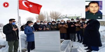 Hanau kurbanı Gültekin Ağrı'da mezarı başında anıldı (VİDEO)