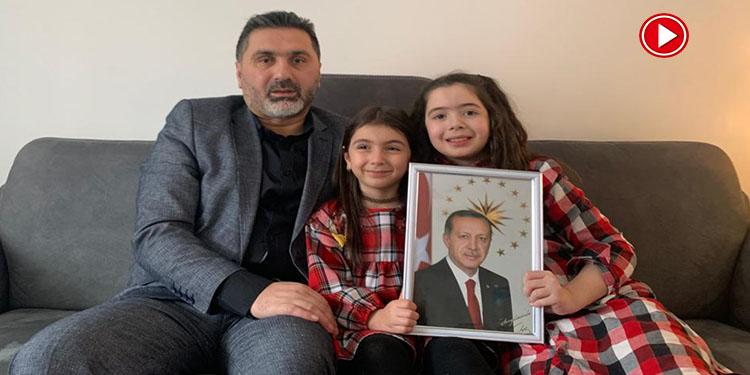 Cumhurbaşkanı Erdoğan'ın mektubunu okuması 9 yaşındaki Sena'yı duygulandırdı (VİDEO)