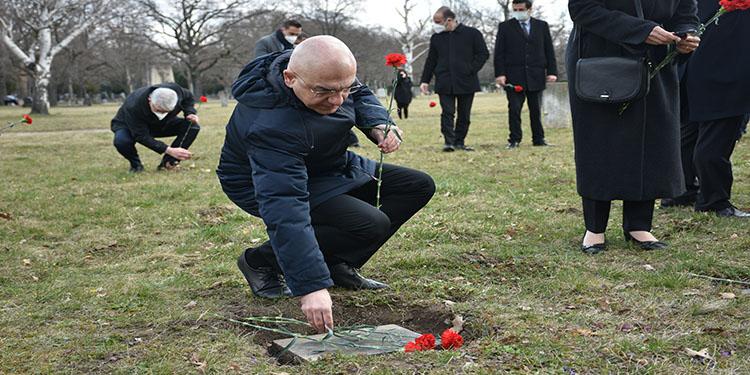 Avusturya'da 18 Mart Çanakkale Deniz Zaferi'nin yıl dönümünde Galiçya şehitleri anıldı