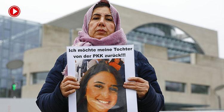 """Almanya'da PKK'nın kızını kaçırdığı anne Maide T.:""""PKK dernekleri kapatılsın"""" (VİDEO)"""