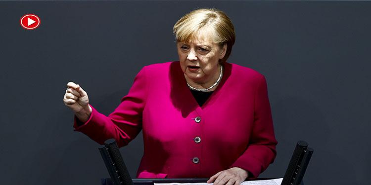 """Merkel AstraZeneca hakkında:""""Gözardı edemeyeceğimiz bulgular mevcut"""" (VİDEO)"""