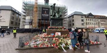 Hanau kurbanları geçici anıtı tahrip edildi