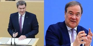 """Almanya'da Hristiyan Birlik partilerinin genel başkanları, """"başbakan adayı"""" olmak istediklerini açıkladı"""