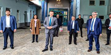 Eyüp Sultan Camii aşı merkezi oluyor