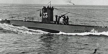 Karadeniz'de Alman denizaltısına ait top bulundu